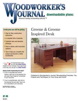 Woodworkers Journal Project Plans