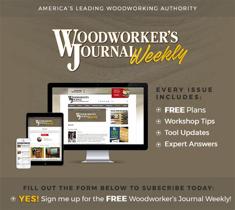 Woodworkers-Journal-Weekly