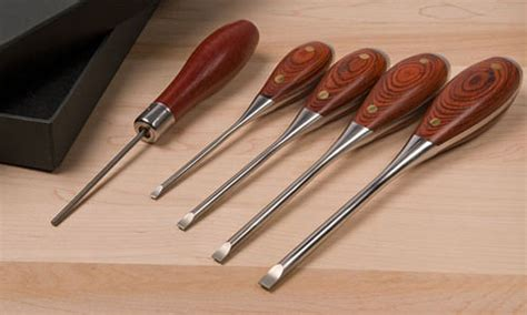 Woodworkers-Parallel-Tip-Screwdrivers