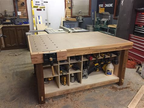 Woodworking Assembly Table Top