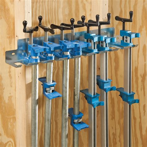 Woodworking Bar C Clamp Racks