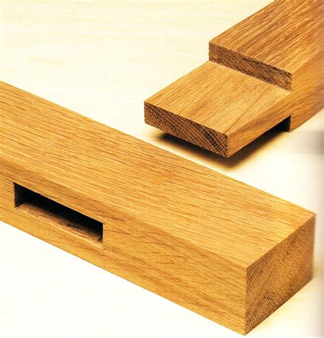 Woodworking Basics Mortise And Tenon Joint