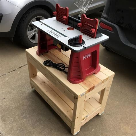 Woodworking Benchtop Wooden Portable Tool Stand Plans