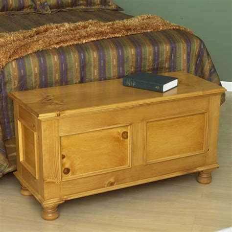 Woodworking Blanket Chest Plans