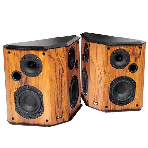 Woodworking Bookshelf Speakers
