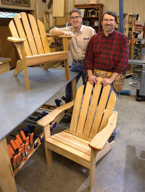 Woodworking Building Chairs Free