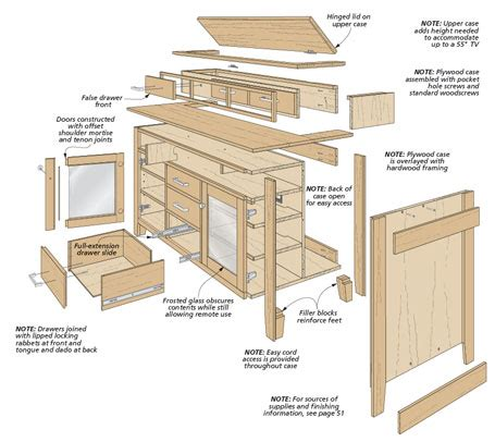Woodworking Building Plans Tv Lift Cabinets