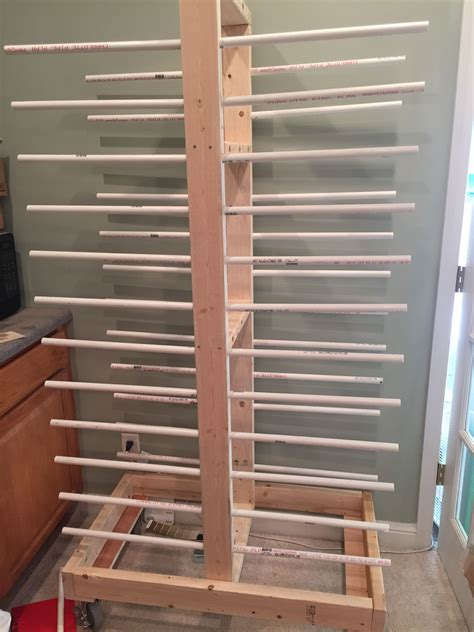 Woodworking Cabinet Door Drying Rack Plans