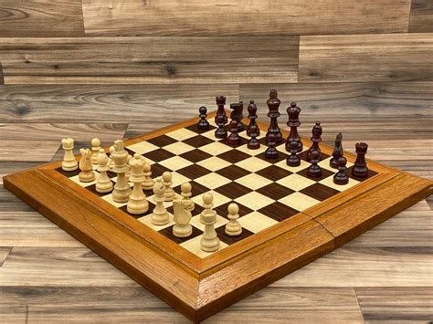 Woodworking Chess Board Table