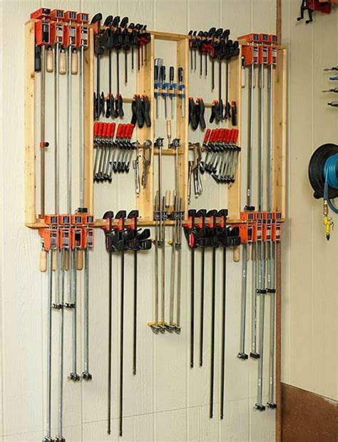 Woodworking Clamps Storage Plans