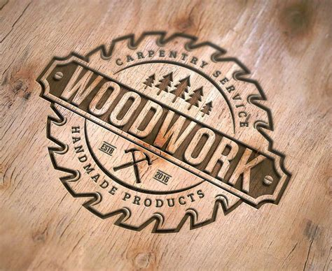 Woodworking Company Logo