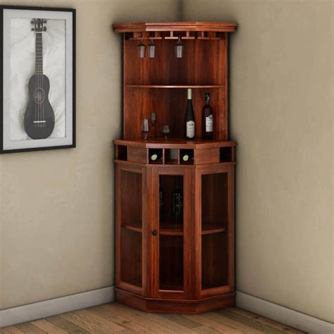 Woodworking Corner Tall Wine Cabinet Plans
