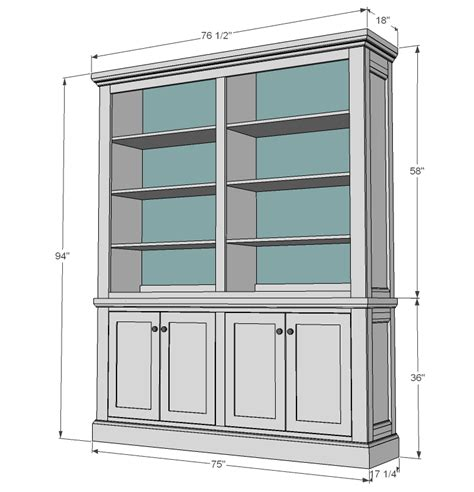 Woodworking Country Hutch Cabinet Plans Free