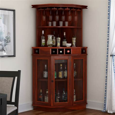 Woodworking Custom Corner Wine Cabinet Plans