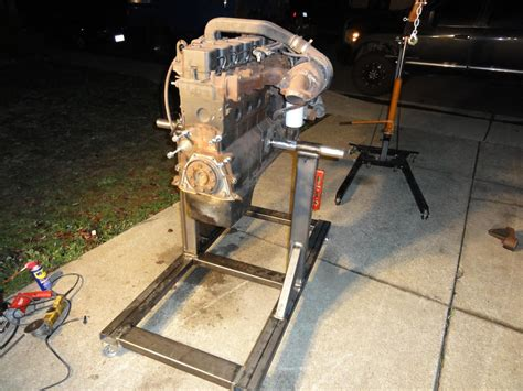 Woodworking Diesel Chevy Engine Stand Plans