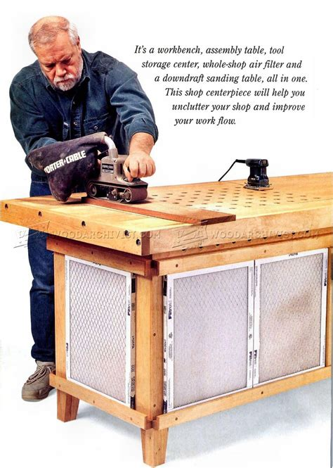 Woodworking Downdraft Table Plans