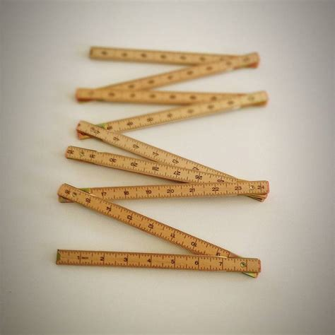 Woodworking Folding Ruler
