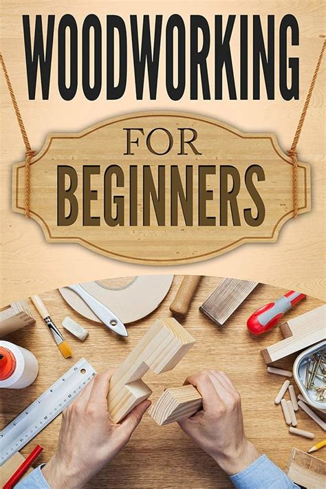 Woodworking For Beginners Books