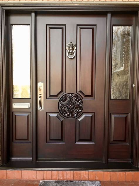 Woodworking Front Door Plans