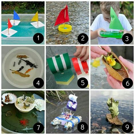 Woodworking Fun Summer Collage Projects For Young