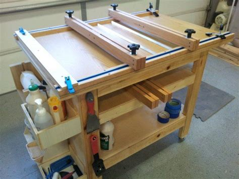 Woodworking Glue Clamp Table
