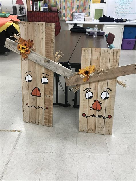 Woodworking Halloween Fall Art Projects Pinterest