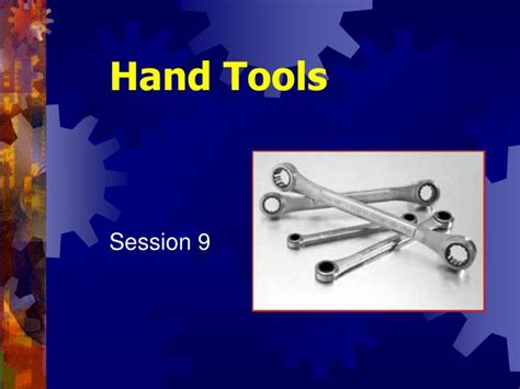 Woodworking Hand Tools Powerpoint