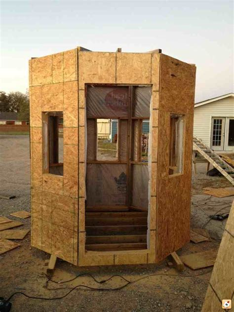 Woodworking Hexagon Hexagon Free Deer Stand Plans Online