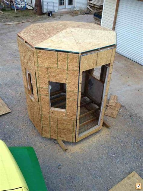 Woodworking Hexagon Hexagon Free Deer Stand Plans Wood