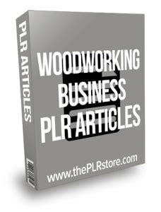 Woodworking Hobbyist Plr
