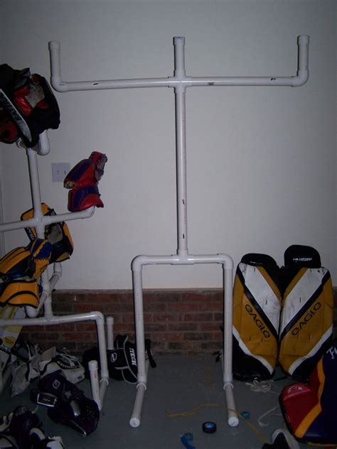 Woodworking Hockey Drying Rack Plans