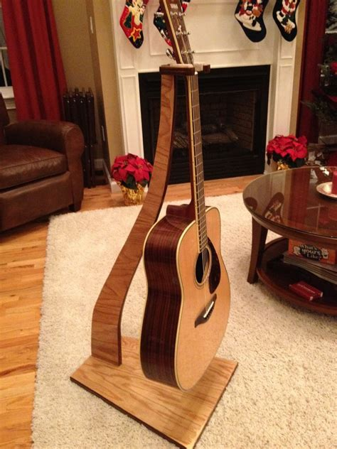 Woodworking Homemade Pvc Free Wooden Guitar Stand Plans