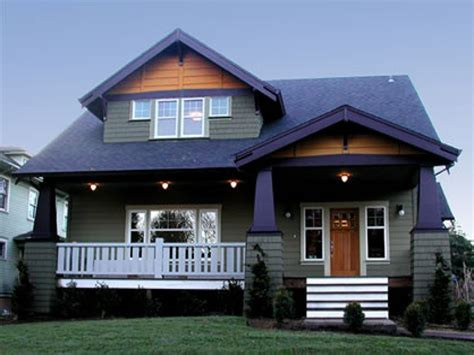 Woodworking House Plans Arts And Crafts Bungalow For