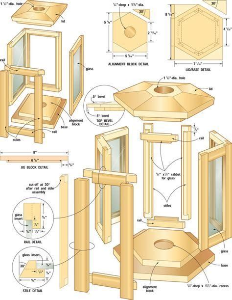 Woodworking Lantern Plans