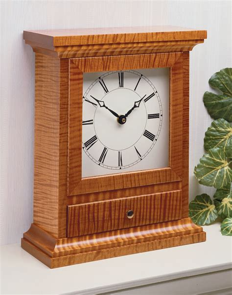 Woodworking Mantel Clock Plans