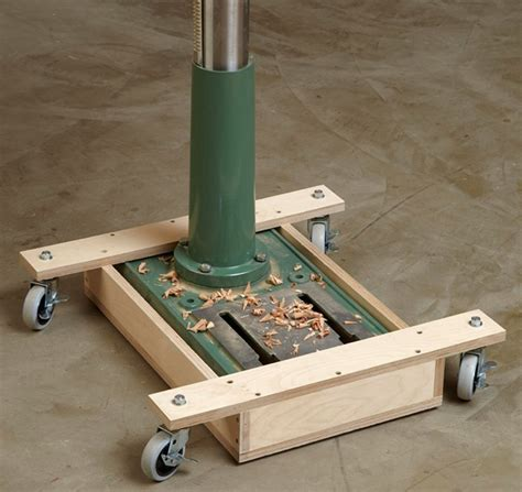 Woodworking Mobile Base Plans