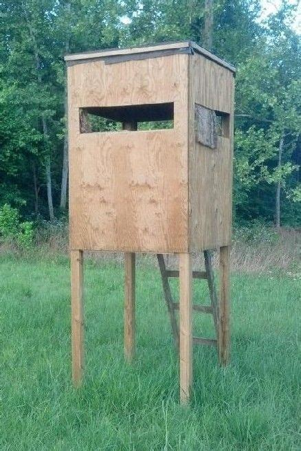 Woodworking Mobile Free Box Deer Stand Plans