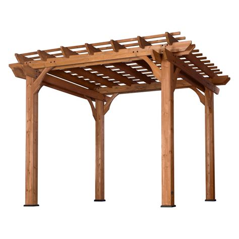 Woodworking Pergola Lowes