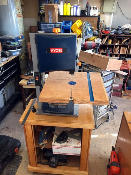 Woodworking Plans Bandsaw Table Upgrade