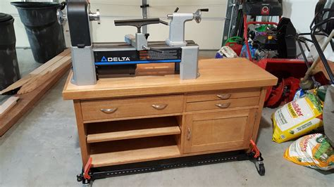 Woodworking Plans Delta Lathe Stand