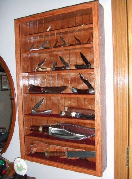 Woodworking Plans Display Case