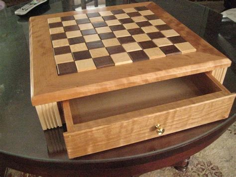 Woodworking Plans For A Chess Board