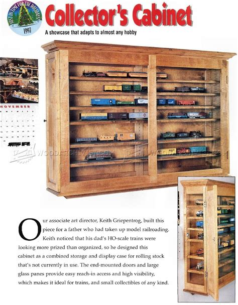Woodworking Plans For A Display Case