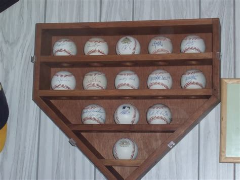 Woodworking Plans For Baseball Display Case