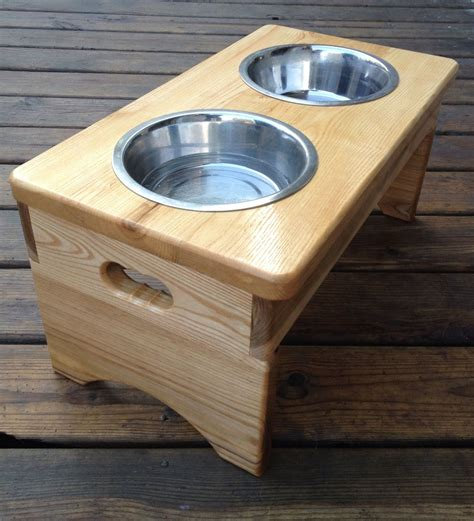 Woodworking Plans For Dog Dish Holder Generator
