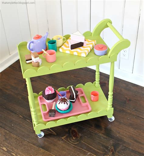 Woodworking Plans For Kids Tea Cart