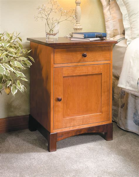 Woodworking Plans For Night Stand Woodsmith Store Des
