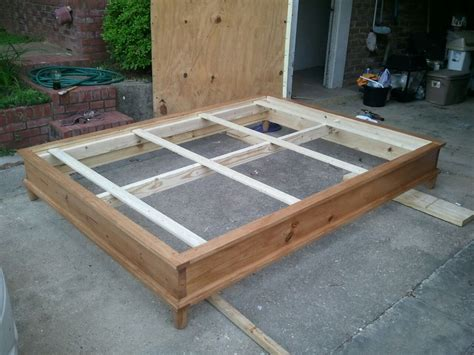 Woodworking Plans How To Build A Queen Size Platform Beds