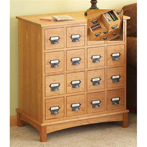 Woodworking Plans Media Storage