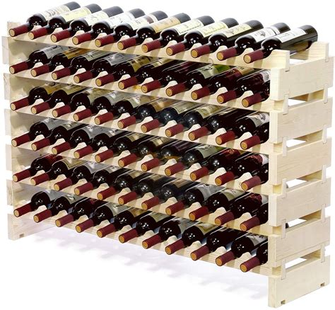 Woodworking Plans Modular Wine Rack Free Shipping